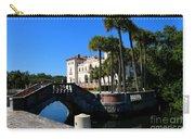 Venetian Style Bridge And Villa In Miami Carry-all Pouch
