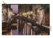 Venezia Al Crepuscolo Carry-all Pouch by Guido Borelli