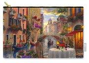 Venice Al Fresco Carry-all Pouch by Dominic Davison