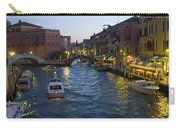 Venice At Dusk Carry-all Pouch