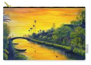 Venice California Canal Carry-all Pouch
