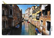 Venice Canal Carry-all Pouch by Bill Cannon
