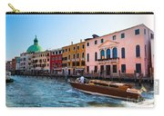 Venice Grand Canal View Italy Sunny Day Carry-all Pouch