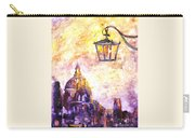 Venice Italy Watercolor Painting On Yupo Synthetic Paper Carry-all Pouch