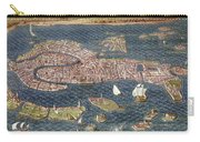 Venice: Map, 16th Century Carry-all Pouch