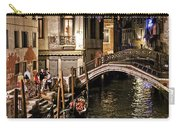 Venice Night By The Canal Carry-all Pouch