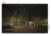 Venice Square At Night Carry-all Pouch