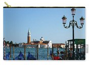 Venice View On Basilica Di San Giorgio Maggiore Carry-all Pouch