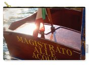 Venice Water Authority Boat Carry-all Pouch