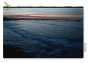 Ventura Pier Sunrise Carry-all Pouch by John Daly