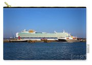 Ventura Sheildhall Calshot Spit And A Tug Carry-all Pouch by Terri Waters