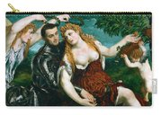 Venus Mars And Cupid Crowned By Victory Carry-all Pouch