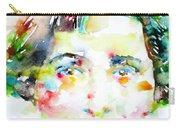 Vera Brittain - Watercolor Portrait Carry-all Pouch