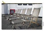 Verandah Seating 02 Queen Mary Ocean Liner Long Beach Ca Carry-all Pouch
