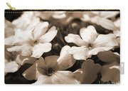 Verbena Named White Hail Carry-all Pouch