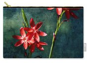 Vermilion Flowers Carry-all Pouch