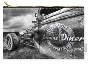 Vermin's Diner Rat Rod In Black And White Carry-all Pouch