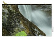 Vermont Aspen Leaf Waterfall Camels Hump Duxbury Carry-all Pouch