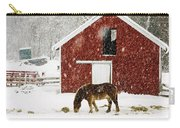 Vermont Christmas Eve Snowstorm Carry-all Pouch