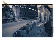 Vermont Covered Bridge In Moonlight Carry-all Pouch
