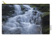 Vermont New England Waterfall Green Trees Forest Carry-all Pouch