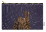Vermont Night Star Trail Wood Pier Carry-all Pouch