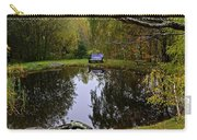 Vermont Pond In Autumn Carry-all Pouch