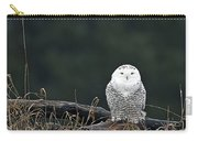 Vermont Snowy Owl Carry-all Pouch