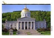 Vermont State Capitol In Montpelier  Carry-all Pouch