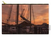 Vermont Sunrise Boats Pier Lake Champlain Carry-all Pouch