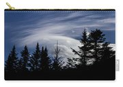 Vermont Tree Silhouette Clouds Cloudscape Carry-all Pouch