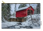 Vermonts Moseley Covered Bridge Carry-all Pouch