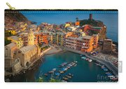 Vernazza Pomeriggio Carry-all Pouch by Inge Johnsson