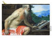 Veronese's Saint Jerome In The Wilderness Carry-all Pouch