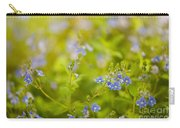Veronica Chamaedrys Named Speedwell Or Gypsyweed Carry-all Pouch