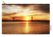 Verrazano Bridge At Sunset Carry-all Pouch