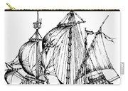Verrazzano's Ship Carry-all Pouch