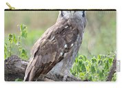 Verreauxs Eagle-owl Bubo Lacteus Carry-all Pouch