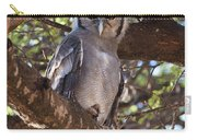 Verreauxs Eagle Owl In Tree Carry-all Pouch