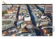 Vertical Aerial View Of Berlin Carry-all Pouch