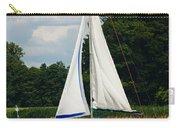 Vertical Sailboat Carry-all Pouch