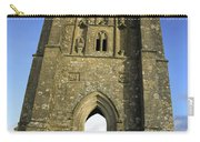 Vertical View Of Glastonbury Tor Carry-all Pouch