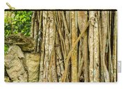 Vertical Vines Carry-all Pouch by Jess Kraft