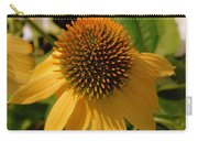 Vertical Yellow Flowers Carry-all Pouch