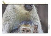 Vervet Monkeys Carry-all Pouch