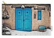 Very Blue Door Carry-all Pouch