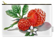 Artz Vitamins A Very Happy Raspberry Carry-all Pouch