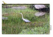 Very Hungry Blue Heron Carry-all Pouch