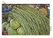 Very Long String Beans In Mangal Bazaar In Patan-nepal Carry-all Pouch