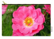 Very Pink Rose Carry-all Pouch